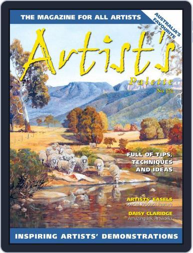 Artist's Palette (Digital) July 1st, 2020 Issue Cover
