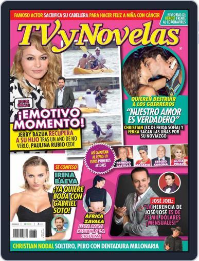 TV y Novelas México (Digital) July 27th, 2020 Issue Cover