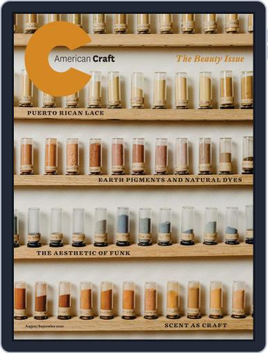 American Craft (Digital) August 1st, 2020 Issue Cover