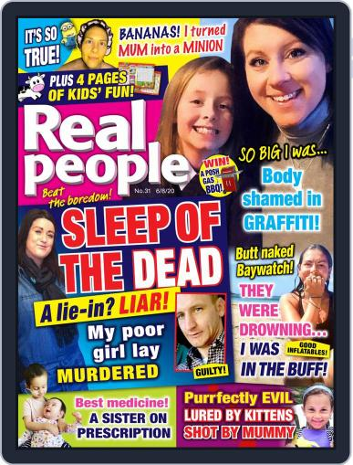 Real People August 6th, 2020 Digital Back Issue Cover