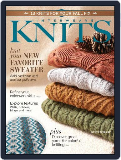 Interweave Knits July 16th, 2020 Digital Back Issue Cover