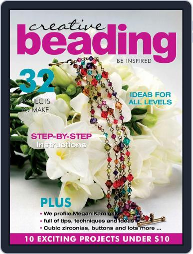 Creative Beading (Digital) August 1st, 2020 Issue Cover