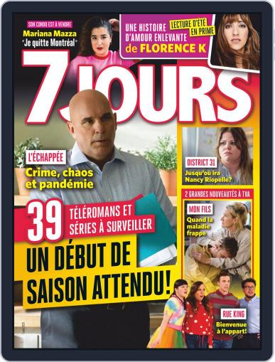 7 Jours (Digital) August 7th, 2020 Issue Cover
