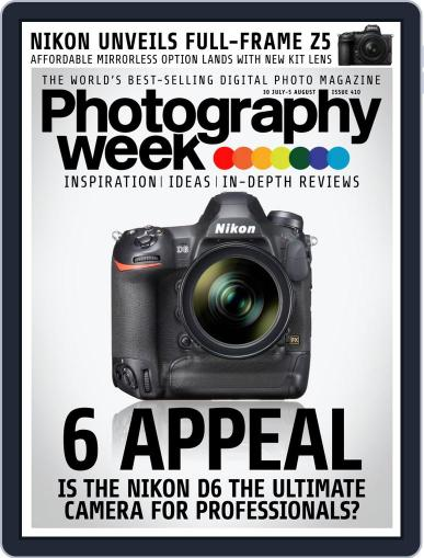 Photography Week (Digital) July 30th, 2020 Issue Cover