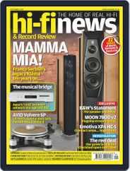 Hi Fi News (Digital) Subscription September 1st, 2020 Issue