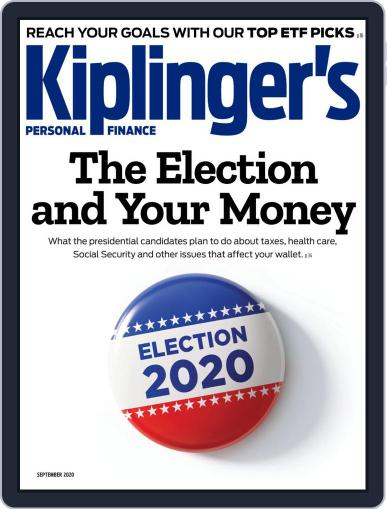 Kiplinger's Personal Finance (Digital) September 1st, 2020 Issue Cover
