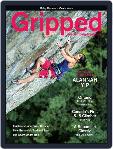 Gripped: The Climbing (Digital) August 1st, 2020 Issue Cover
