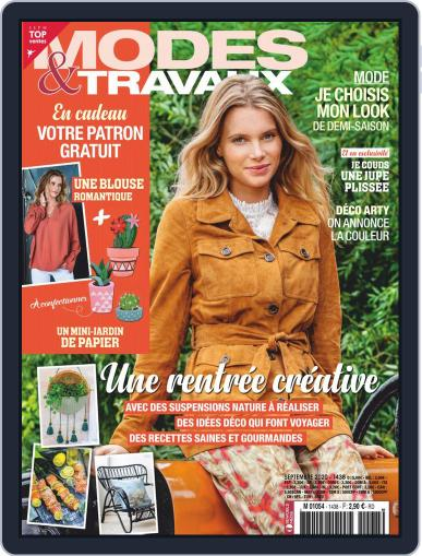 Modes & Travaux September 1st, 2020 Digital Back Issue Cover
