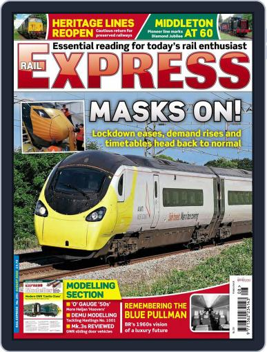 Rail Express (Digital) August 1st, 2020 Issue Cover