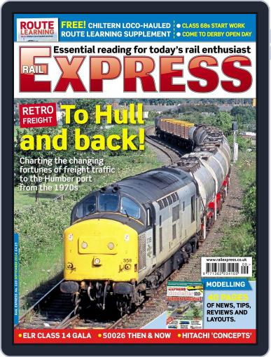 Rail Express (Digital) August 19th, 2014 Issue Cover