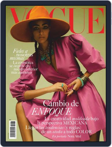 Vogue Mexico (Digital) August 1st, 2020 Issue Cover