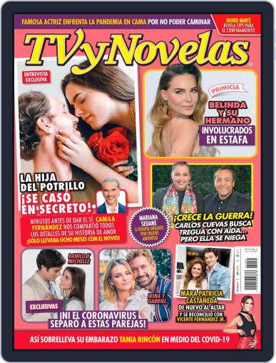 TV y Novelas México (Digital) August 3rd, 2020 Issue Cover