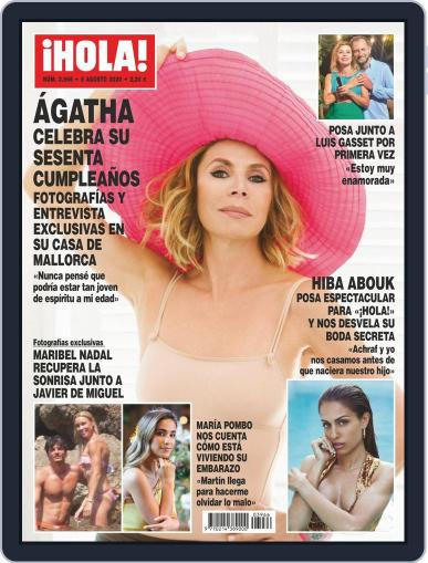 Hola (Digital) August 5th, 2020 Issue Cover