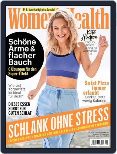 Women's Health Deutschland (Digital) September 1st, 2020 Issue Cover