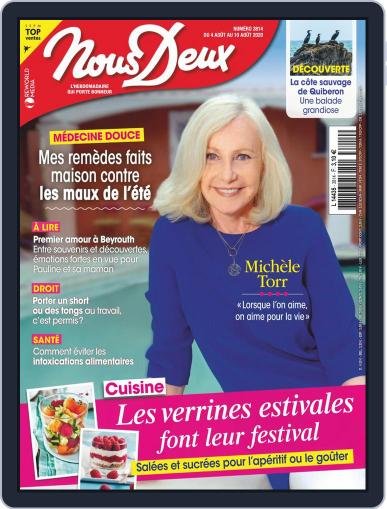Nous Deux August 4th, 2020 Digital Back Issue Cover