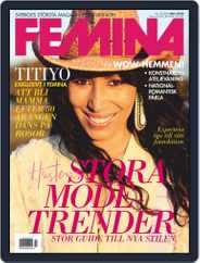 Femina Sweden (Digital) Subscription September 10th, 2020 Issue