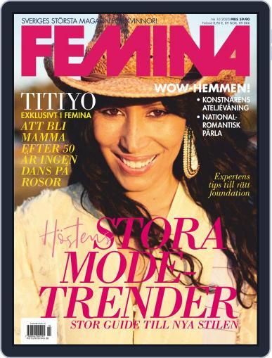 Femina Sweden (Digital) September 10th, 2020 Issue Cover