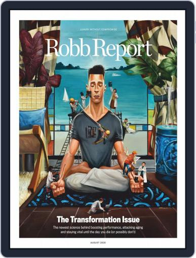 Robb Report (Digital) August 1st, 2020 Issue Cover