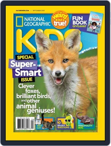 National Geographic Kids (Digital) September 1st, 2020 Issue Cover
