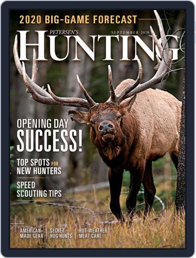 Petersen's Hunting (Digital) September 1st, 2020 Issue Cover