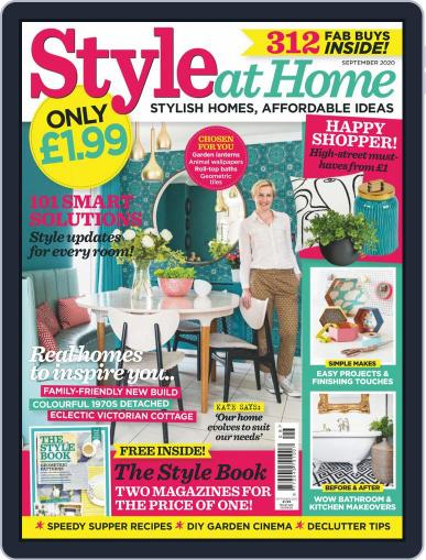 Style At Home United Kingdom (Digital) September 1st, 2020 Issue Cover