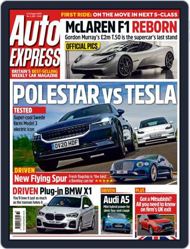 Auto Express (Digital) August 5th, 2020 Issue Cover