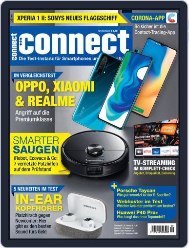 Connect September 1st, 2020 Digital Back Issue Cover