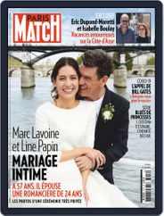 Paris Match (Digital) Subscription August 6th, 2020 Issue