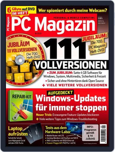 PC Magazin September 1st, 2020 Digital Back Issue Cover