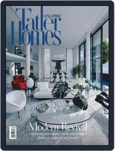 Tatler Homes Singapore (Digital) August 1st, 2020 Issue Cover