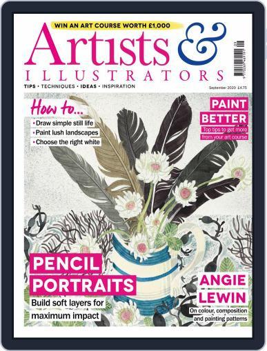 Artists & Illustrators (Digital) September 1st, 2020 Issue Cover
