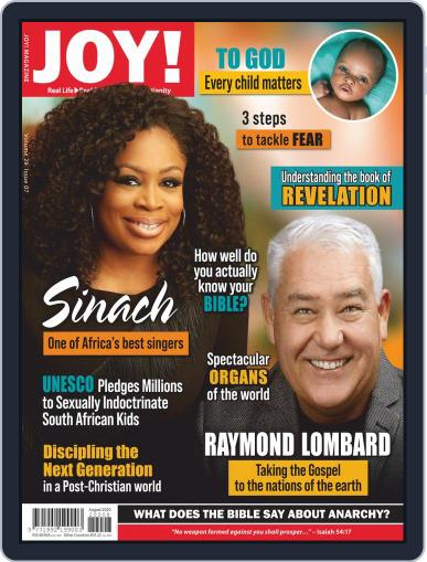 Joy! (Digital) August 1st, 2020 Issue Cover