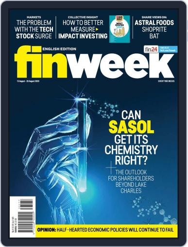 Finweek - English (Digital) August 13th, 2020 Issue Cover