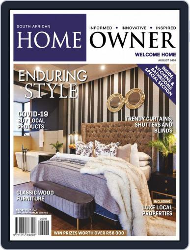 South African Home Owner (Digital) August 1st, 2020 Issue Cover