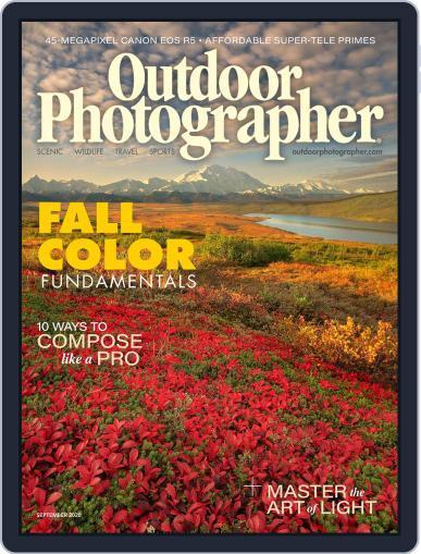Outdoor Photographer (Digital) September 1st, 2020 Issue Cover