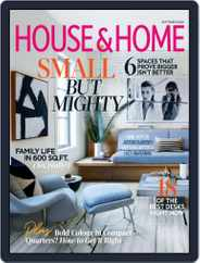 House & Home (Digital) Subscription September 1st, 2020 Issue