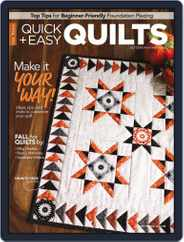 QUICK QUILTS (Digital) Subscription October 1st, 2020 Issue