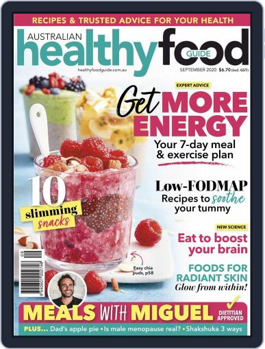 Healthy Food Guide (Digital) September 1st, 2020 Issue Cover