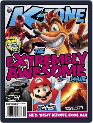 K-Zone (Digital) September 1st, 2020 Issue Cover