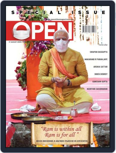 Open India August 7th, 2020 Digital Back Issue Cover