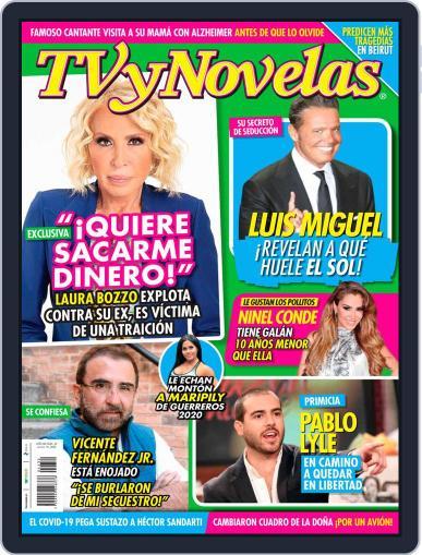 TV y Novelas México (Digital) August 10th, 2020 Issue Cover