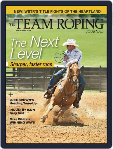 The Team Roping Journal (Digital) September 1st, 2020 Issue Cover