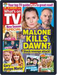 What's on TV (Digital) Subscription August 15th, 2020 Issue