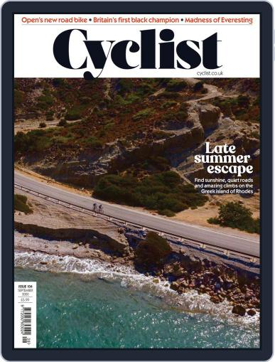 Cyclist (Digital) September 1st, 2020 Issue Cover