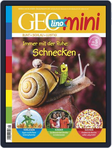 GEOmini (Digital) September 1st, 2020 Issue Cover