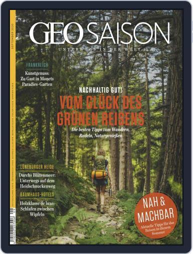 GEO Saison (Digital) September 1st, 2020 Issue Cover