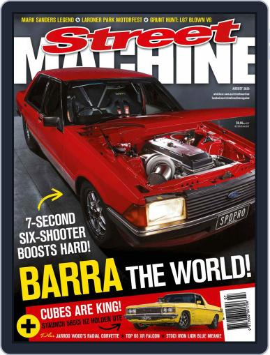 Street Machine August 1st, 2020 Digital Back Issue Cover