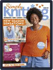 Simply Knitting (Digital) Subscription October 1st, 2020 Issue