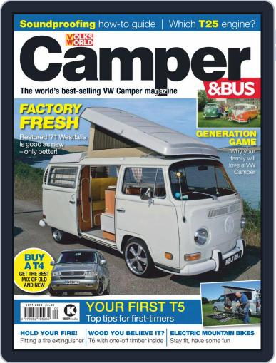 VW Camper & Bus (Digital) September 1st, 2020 Issue Cover
