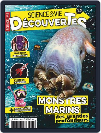 Science & Vie Découvertes (Digital) September 1st, 2020 Issue Cover